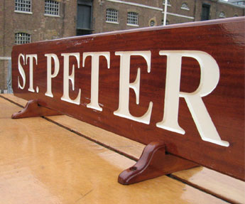 St. Peter's Barge